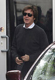 Paul McCartney heads off on his honeymoon!