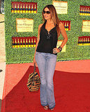 Sofia Vergara kept her sunglasses on at the Veuve Clicquot Polo Classic.