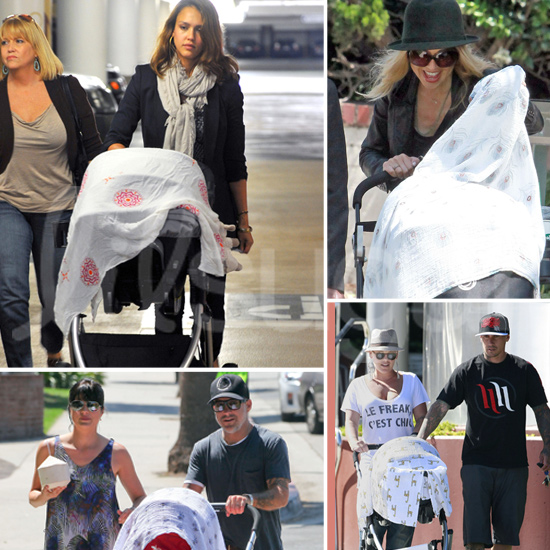 10 Celeb Mamas Who Really Love Their Muslin Blankets