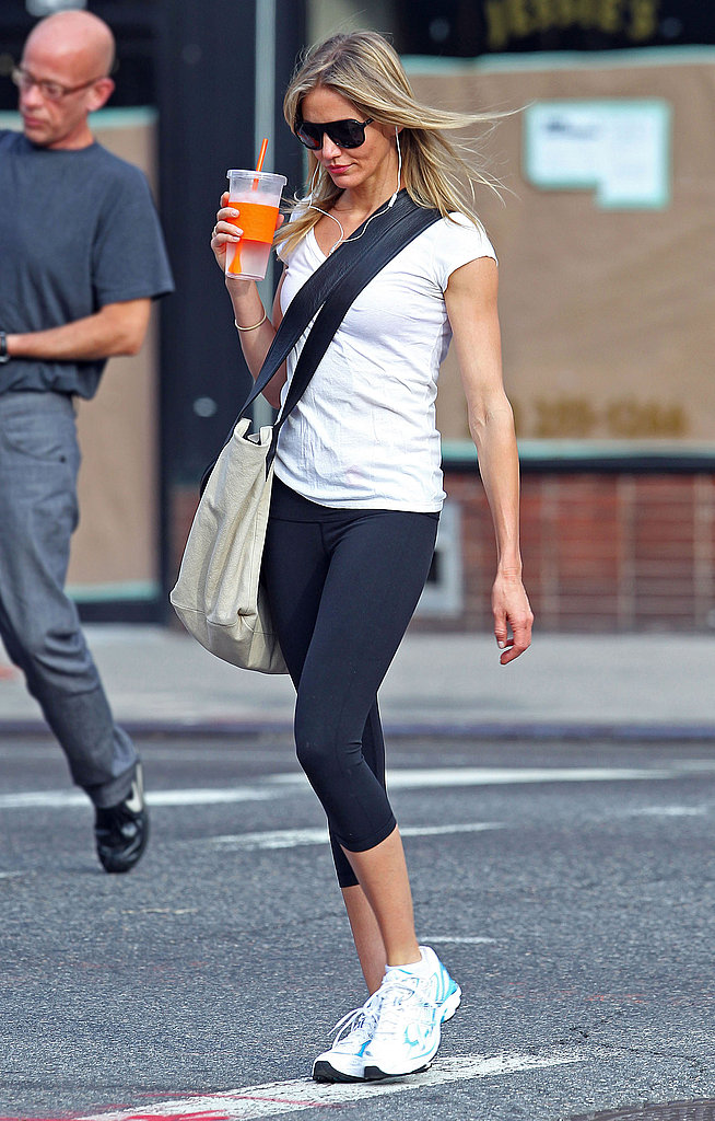 Cameron Diaz kept a low profile in NYC.
