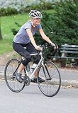 Gwyneth Paltrow rode a bike for her new movie.