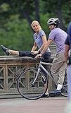 Gwyneth Paltrow and Mark Ruffalo shoot Thanks For Sharing.