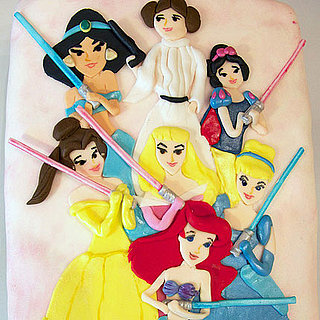 Star Wars Disney Princess Cake