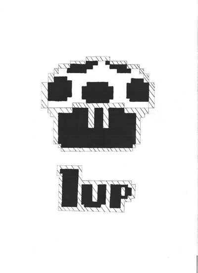 1UP Pumpkin by Jennifer Summe