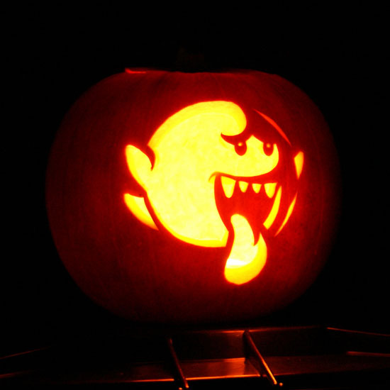 Video Game-Inspired Pumpkin Templates