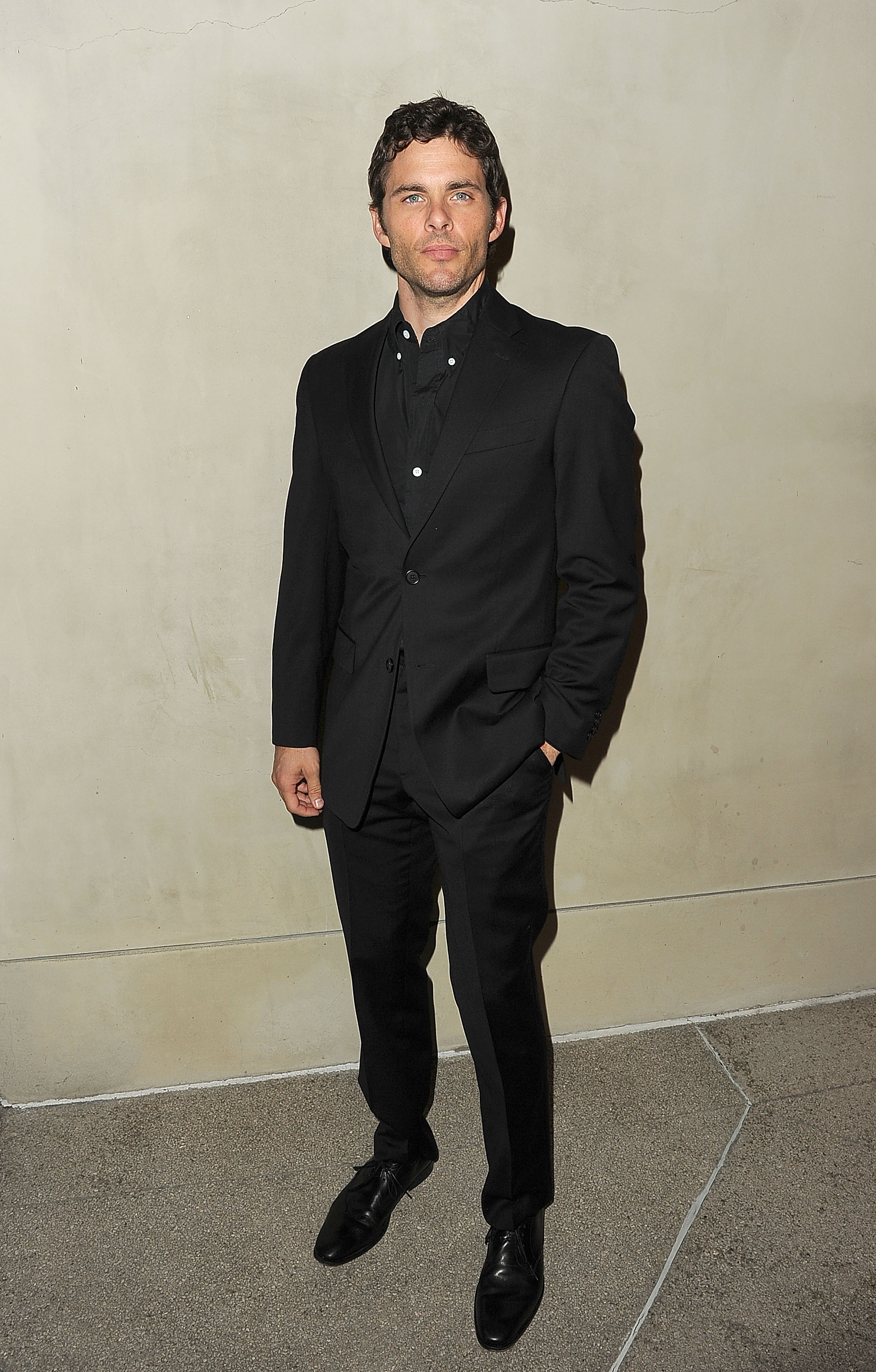 James Marsden was among the star-studded guests at a private dinner for Armani and Vanity Fair.