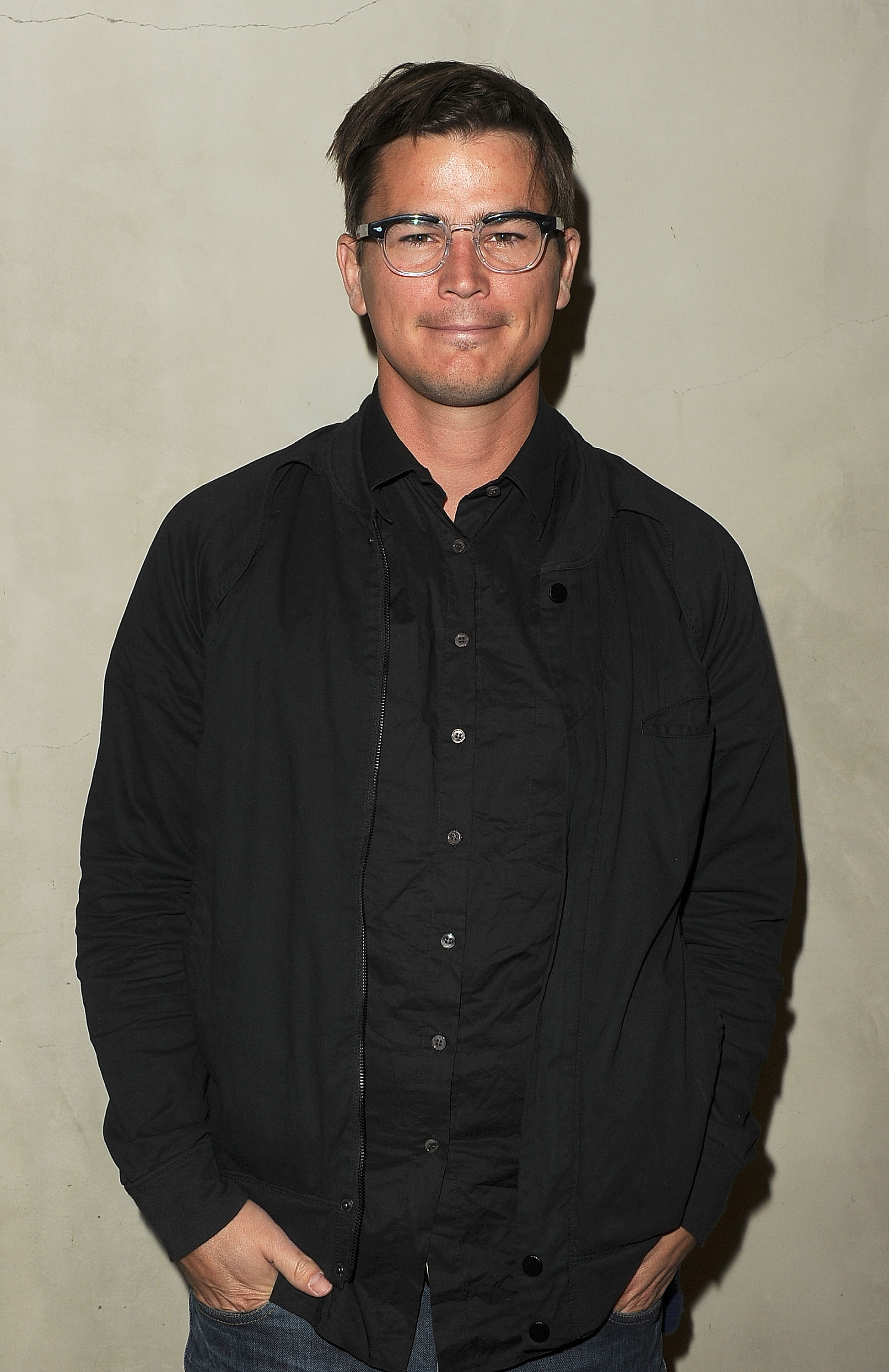 Josh Hartnett put his hands in his pockets at an event in LA.