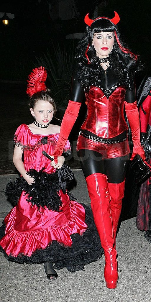 Kate Beckinsale was covered up, but definitely sexy, to trick-or-treat with daughter Lily Sheen around LA in 2007.
