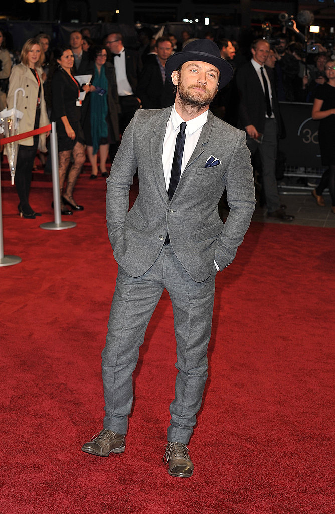 Jude Law at the premiere of 360.