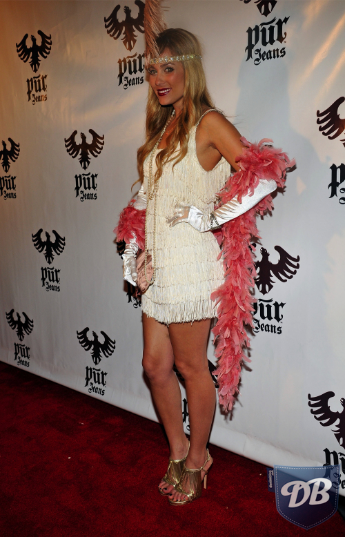 Lauren Conrad put a stylish spin on a flapper costume in 2008.