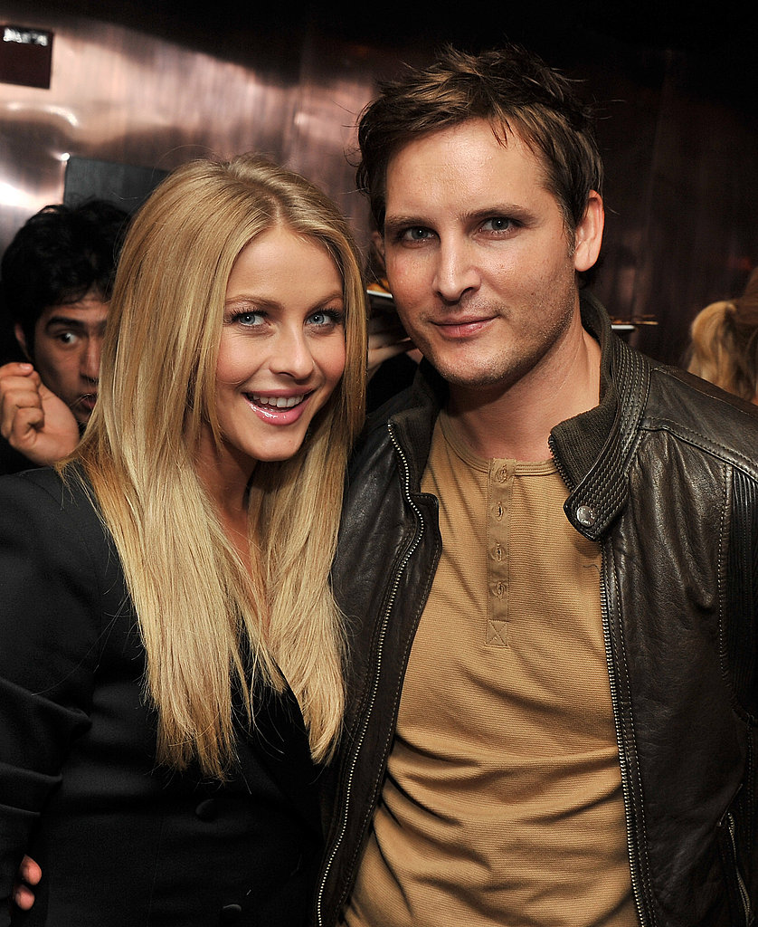 Julianne Hough and Peter Facinelli partied following the NYC premiere of Footloose.