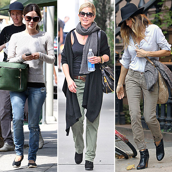 A Celebrity-Inspired Lesson in Staying Stylish <i>and</i> Cozy