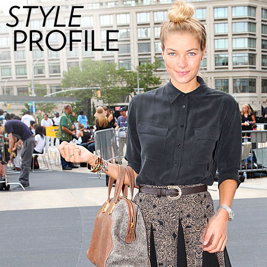 Style Setter: Jessica Hart's Cute and Sexy Cool