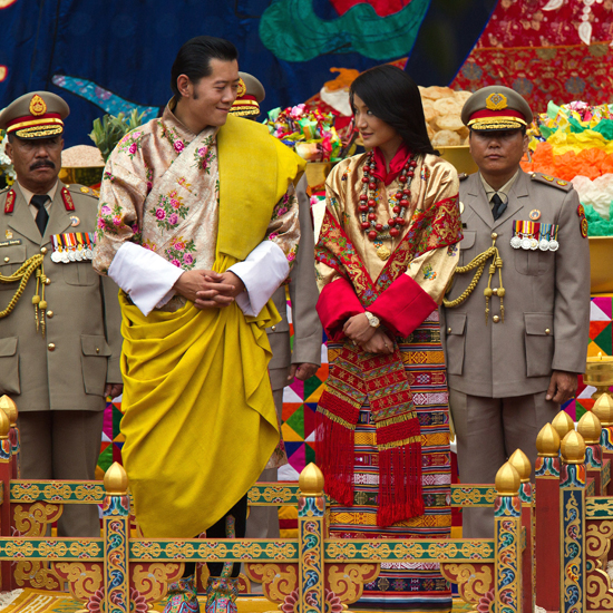 Bhutan's King Marries in Dazzling Royal Wedding