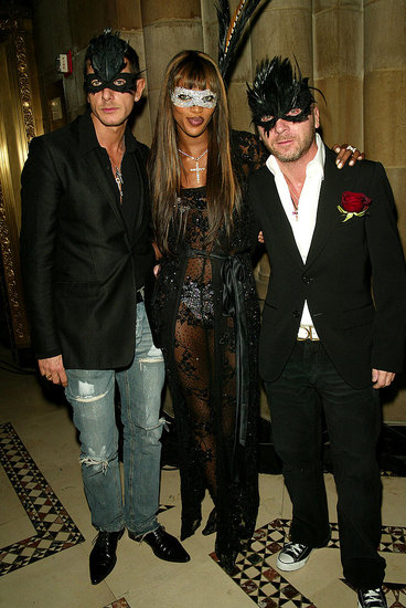 Stefano Gabbana, Naomi Campbell, Domenico Dolce
