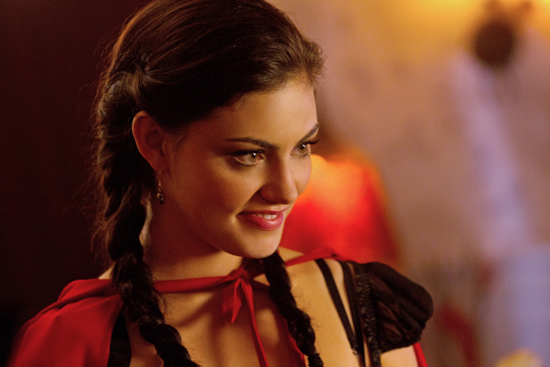 Phoebe Tonkin as Faye on The Secret Circle.  Photo courtesy of The CW