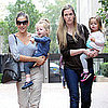 Sarah Jessica Parker Takes Loretta &amp; Tabitha to School Pictures