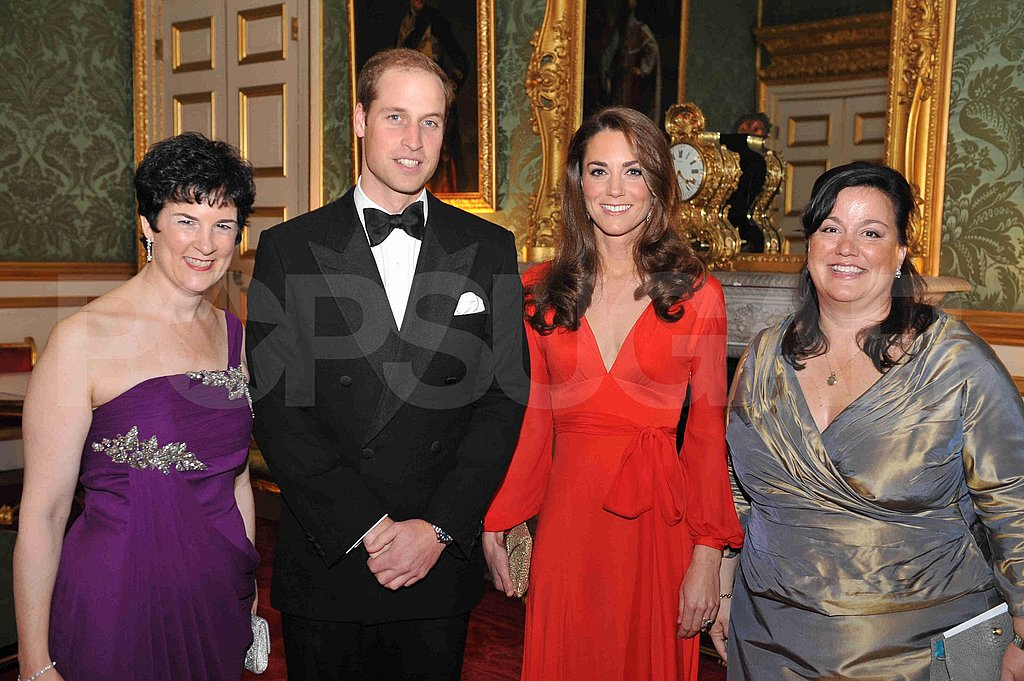 Kate Middleton wears Beulah London.