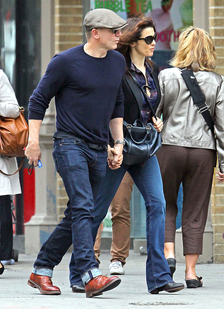 Daniel Craig and Rachel Weisz ran errands in NYC.
