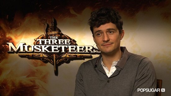 "Orlando Bloom on ""Living Out His Boyhood Dream"" and Playing a Bad Boy in The Three Musketeers"