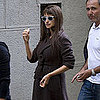 Penelope Cruz Wearing a Robe in Rome Pictures