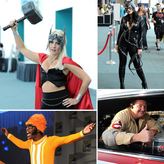 Geeky Costumes Galore