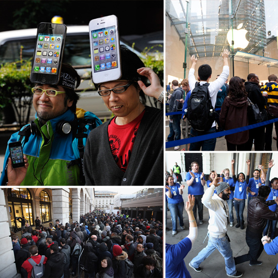 iPhone 4S Launch Day Pictures