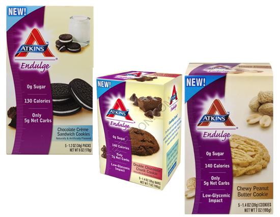 Atkins Low-Carb Cookies