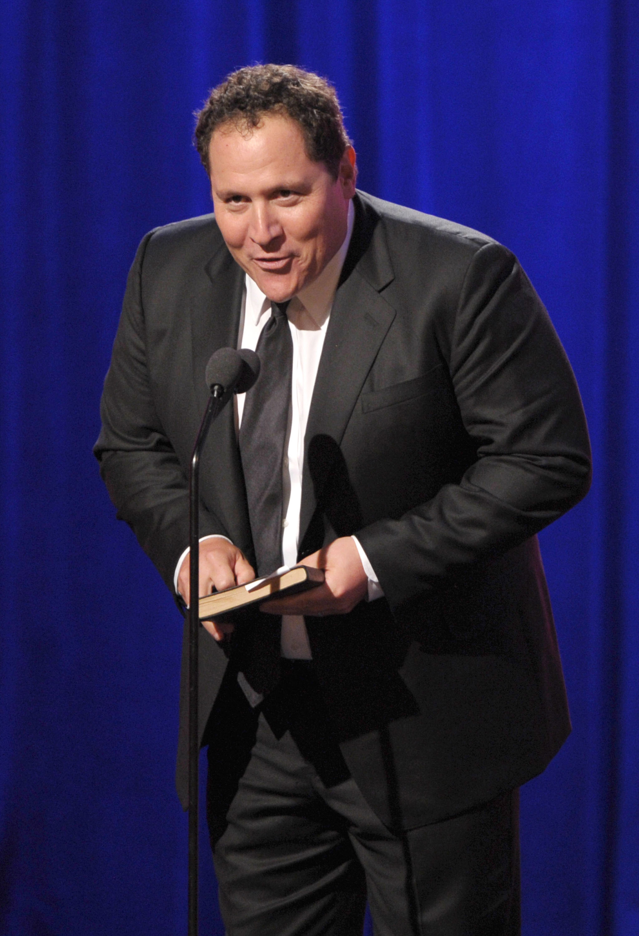 Jon Favreau was also on hand.