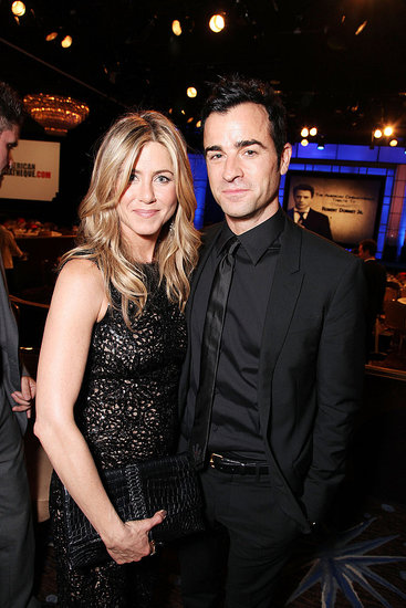 Jennifer Aniston and Justin Theroux made last night's event a date night.