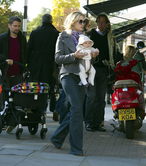 Kate Hudson Carries Baby Bing Close During a Family Day Out