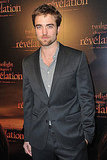 Robert Pattinson at the Paris premiere of Breaking Dawn.