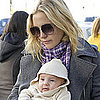 Kate Hudson With Baby Bing in London Pictures