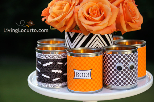 Free Modern Printable Halloween Table Decor