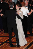Princess Mary and Prince Frederik dance at the American-Scandinavian Foundation's Centennial Ball on Oct. 21.