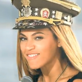 "Beyonce Music Video For ""Love on Top"""