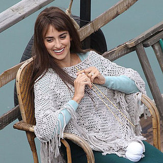 Penelope Cruz and Emile Hirsch Filming in Rome Pictures