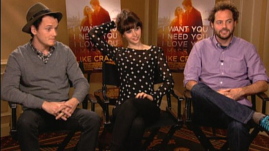 Anton Yelchin, Felicity Jones, and Drake Doremus on Like Crazy and Shooting Without a Script