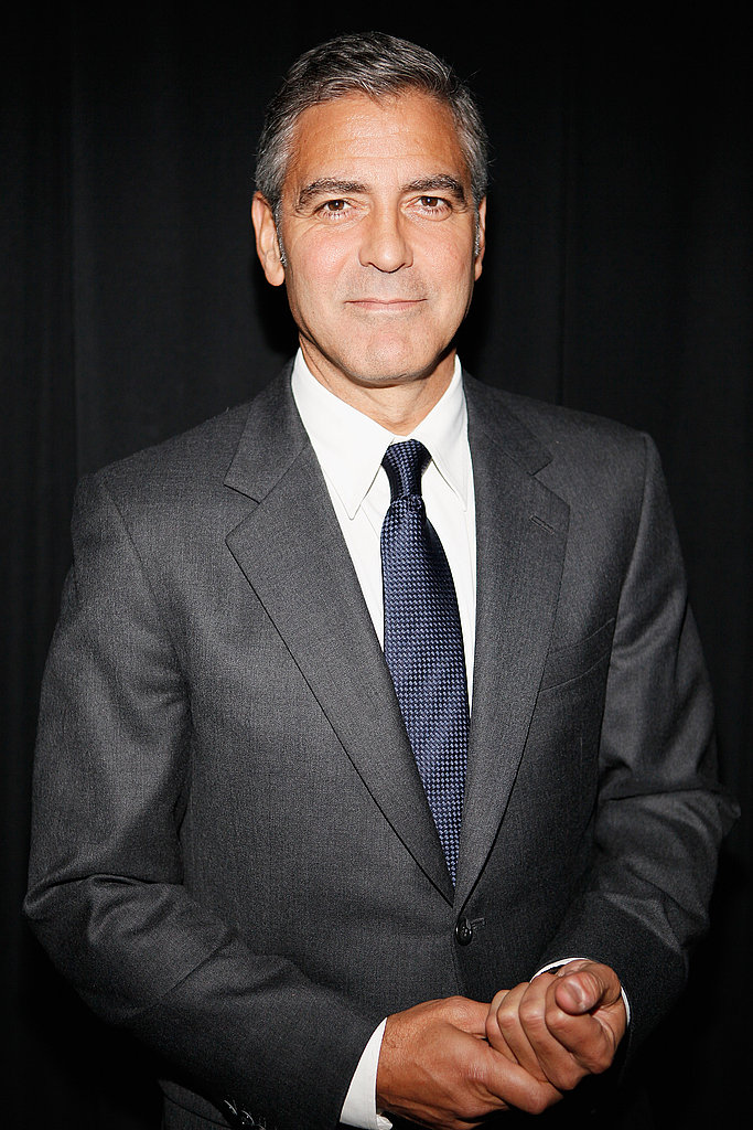 George Clooney at Alice Tully Hall.