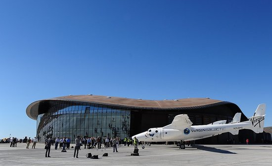 Geek Shot: Virgin Galactic's Spaceport Draws a Crowd