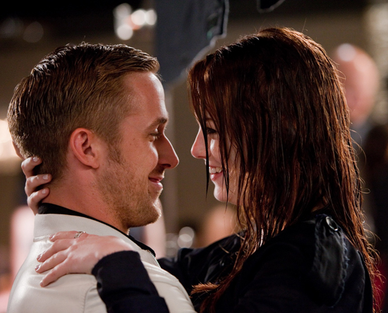 Before Emma and Ryan play a couple in The Gangster Squad, they were an adorable twosome in Crazy, Stupid, Love.