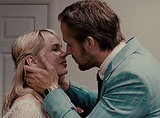 Although Michelle Williams and Ryan Gosling's characters have some major low points in Blue Valentine, this sweet kiss is shared during their wedding-day bliss.