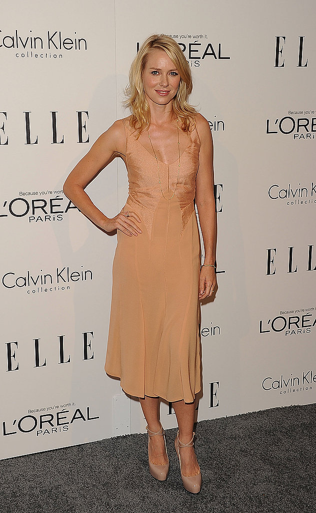 Naomi Watts hit the red carpet in support of women in Hollywood.