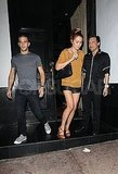 Lauren Conrad and Mark Ballas were together in LA.