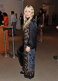 Mary-Kate Olsen attended the New York Academy of Art's 20th annual Take Home a Nude benefit.
