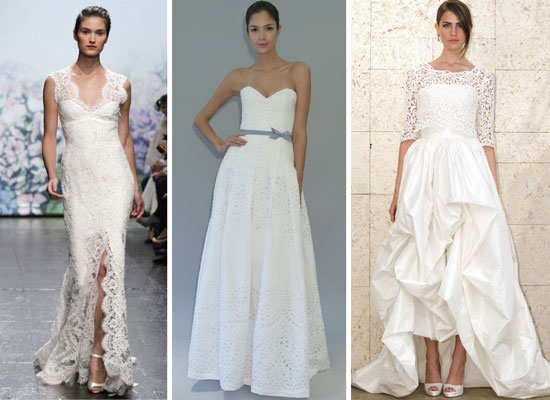 of the best designer wedding dresses from 2012 autumn winter bridal