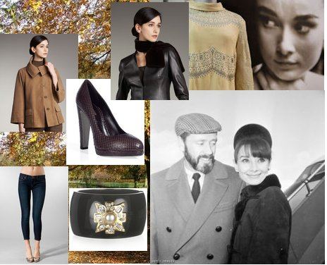 Shop For Fall - Audrey Hepburn Style!