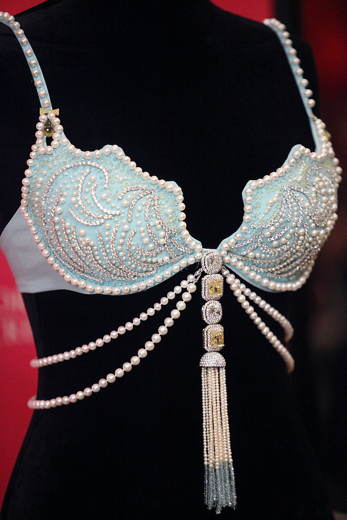 The jewel-encrusted bra has an estimated worth of $2.5 million.