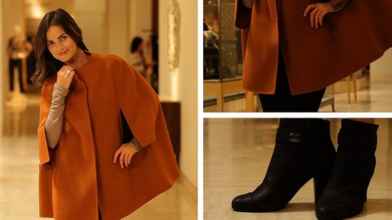 Find Out How to Wear a Cape Coat This Fall