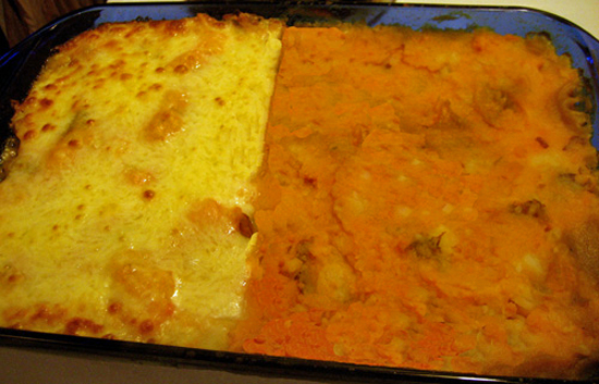 Vegetarian Sweet Potato Shepherd's Pie